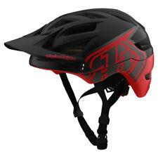 Troy Lee Designs A1 Mips Classic Black Red Helmet