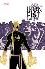 Iron Fist #1 HC: campeonato lim.111 ex Variant Hardcover Ed Brubaker + Matt Fraction