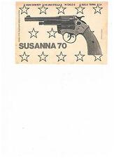 advertising pubblicita' PISTOLA SUSANNA 70 -- 1970