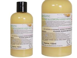 Lemon And Tea Tree Antiseptic Liquid Hand Wash, 1 Bottle Of 150ml