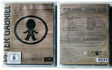 PETER GABRIEL Growing Up LIVE .. ca. 130 Min. DVD TOP + 32 Seiten Booklet