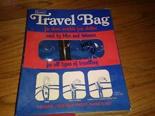 Vintage New in Box Sears Travel Bags Garment Bags Suit and Dress Size (2)