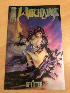 Witchblade #1 german euro Michael Turner chromecover