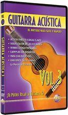USED (GD) Guitarra Acustica, Vol 3: Tu Puedes Tocar La Guitarra Ya! (Spanish Lan