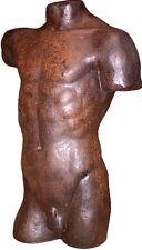 Australian Sculpture of Male Torso life size Greek style ltd edn, made in Sydney