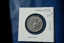 A-213 1976 Canada 25 Cents quarter Queen Elizabeth II