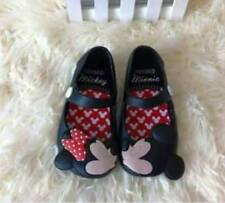 Mickey And Mini Jelly Shoes Kids (Black)