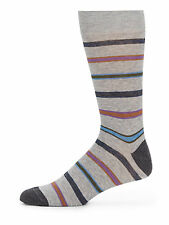 Saks Fifth Avenue Multi-color Mens Striped Stretch Cotton Blend Socks 10-13 NWT