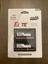 New listing Teamgroup Elite 16Gb Kit (2 x 8Gb) Ddr4 2666Mhz