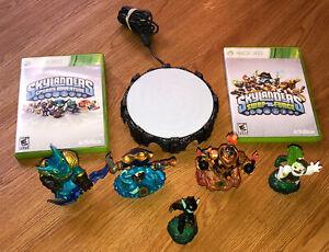 Skylanders Swap-Force & Spyro Games (2) Power Portal & Five Characters Xbox 360