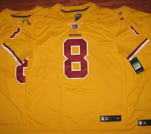 Washington Redskins KIRK COUSINS Limited Vapor Untouchable GOLD Jersey 2XL NWT