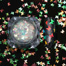 Nail Art Holographic Sequins Glitter Rainbow Color Butterfly Flakes Nail Decor