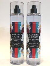 NEW 2 BATH & BODY WORKS CHAMOMILE & HONEY FINE FRAGRANCE MIST BODY SPRAY 8 FL OZ