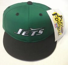 NWT NFL New York Jets Elasticback Infant Cap Hat 35% Cotton NEW!