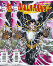 DC NEW 52! JUSTICE LEAGUE OF AMERICA #7.4 / BLACK ADAM #1 3-D AND STANDARD COVER