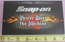 Genuine Official Snap On Tools Power Over The Machine Sticker Decal - Brand NEW