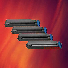 4 Toner Cartridge for Okidata 43979101 B410 MB400 series