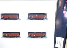 4er Set Behelfskaliwagen DR Ep3 HERIS 80042 TT 1:120 HP1  å *