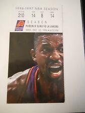 1995-96 Phoenix Suns vs. Los Angeles Lakers Ticket Stub (SKU2)