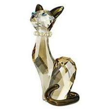 "SWAROVSKI SILVER CRYSTAL ""DIANE"" CAT LOVLOTS 988017 MINT IN BOX NOW RETIRED"