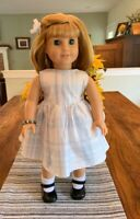 Sleeveless Plaid Dress For American Girl or Any 18 Inch Doll, Used, Dress Only