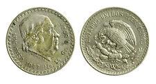 pcc1954_7) ESTADOS UNIDOS MEXICANOS 1 PESO 1947 SILVER AR