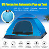 2-3 Person Camping Tent Automatic Shelter Courtyard Outdoor Hiking Waterproof