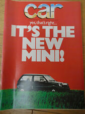 Car Nov 1978 Opel Senator 3.9E vs Mercedes 280SE vs BMW 730