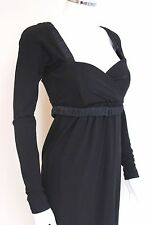 Max Mara Black Corset Dress 40 uk 8