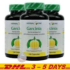 Herbal One Pure Garcinia Cambogia Fruit Dietary Supplement Product 300 Capsules