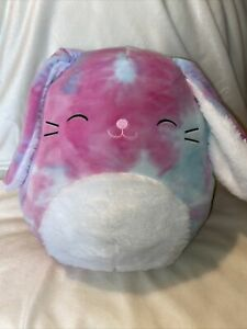 """NEW Kellytoy Squishmallow 12"""" Ryder The Bunny - Easter Exclusive 🐣"""