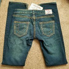 RARE-NWT True Religion women's Johnny Big T jeans, size 26-$345
