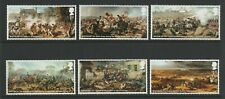 GB 2015 Battle of Waterloo Stamps SG 3724-3729 MNH