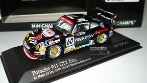 MINICHAMPS 1:43 PORCHE 911 GT2 LE MANS 1998 RFA 430986760