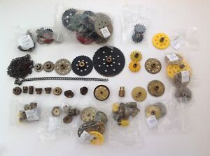 Vintage Meccano Gears, Pinions and Sprockets Multi list - Individually priced