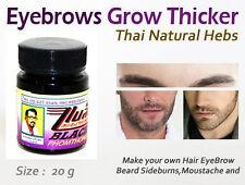 BLACK PHOMTHONG Stimulating Hair Growth NATURAL Cream Beard Sideburns Eyebrows