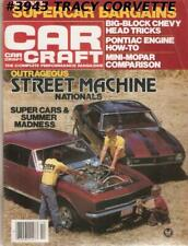 OCTOBER 1981 CAR CRAFT FUNNY CARS AND FUEL BIKES ON FIRE NEW MOPAR CHARGER 2.2