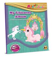 Quackduck Glitzermalbuch - Mein Einhorn Pony - Malen auf Glitzer Hintergrund