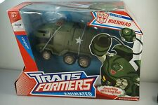 TRANSFORMERS Animated BULKHEAD Voyager 8 inch figure Prime MIB!