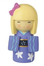 Japanese Collection Hina Doll Money Box (Purple)