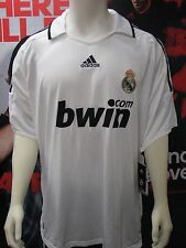 Adidas Real Madrid 2008 - 2009 Home Jersey White Adult 2XL NWT