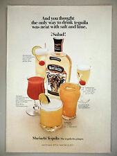 Mariachi Tequila PRINT AD - 1969