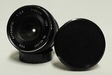 Vintage YUS f/2.8 28mm Wide-Angle Lens SLR Camera DSLR YASHICA CONTAX Micro 4/3
