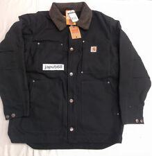 Carhartt #102707 Mens Full Swing Chore Coat  Black LARGE [CBX55-2707]