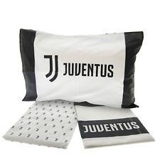 Completo Lenzuola F.C. Juventus Juve Ufficiale per letto una piazza e mezza