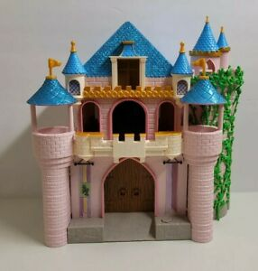 Disney Store Sleeping Beauty Deluxe Light Up Castle Playset Animators Collection