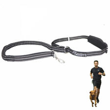 Woody's hands-free running dog lead with belt - elasticated lead