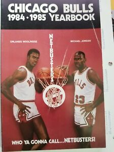 NBA Chicago Bulls Vintage 1984-1985 Team Basketball Yearbook Jordons rookie year
