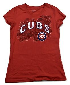 GIII 4 Her Womens MLB Chicago Cubs Baseball Shirt New M, L, XL