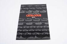 BANDAI Plastic Model Kits Catalogue Katalog 1977 sehr guter Zustand